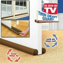 Twin Draft Guard Dust Insect Stopper