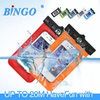 BINGO Waterproof Bag Airbag IPX8 Mobile Phone up to 20m Anti Bassah