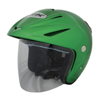 Helm INK CX 22 Sport Solid Green Kawasaki