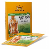 SINGAPORE TIGER BALM PLASTER WHITE COOL 3 PCS KOYO TIGER BALM DINGIN