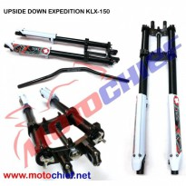 Upside down Expedition KLX 150