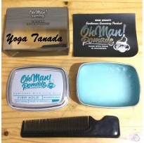Pomade Oh Man Nutri Blue Firm Hold Heavy Waterbased 85