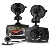 [globalbuy] 2.7 Dual Lens Car DVR Camera Full HD 1080P Dash Cam Car DVRs Video Recorder Du/4317822