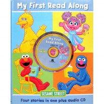 [Xivan] Sesame Street My First Read Along (Four stories in one plus audio CD)