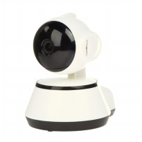 Wireless Wifi Smart Shaking Head Monitoring Camera (White) - intl