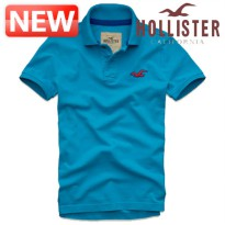 Hollister Short Sleeve Tee / DC-321-364-0348-024 / Wipeout Beach Polo Turquoise / T [HOLLISTER]