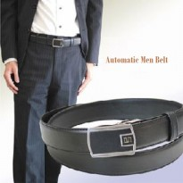 Leather Belt Automatic | Ikat Pinggang Pria Import Elgano