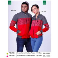 Sweater WanitaGarsel Fashion FIZ 2251 MERAH