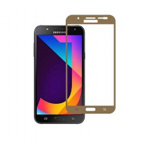 HMC Samsung Galaxy J7 Core / SM-J701 - 2.5D Full Screen Tempered Glass - Lis Emas