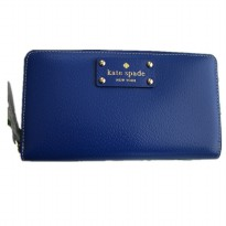 Kate Spade Authentic New York Neda Wellesley Zip Around Wallet - Blue
