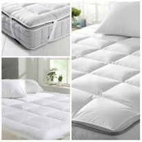 HOTEL BED MATTRESS (MATRAS) Protector/Topper size Singl