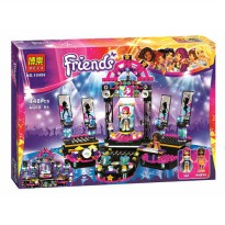 [globalbuy] 448pcs SY380 10406 Friends series Pop Star Show Stage Livi Andrea Building Kit/4461547