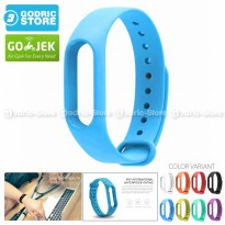 Xiaomi Mi Band 2 OLED Strap Silicone / Gelang Silicon MiBand 2