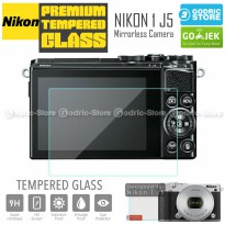 Nikon 1 J5 LCD Tempered Glass Screen Protector Anti Gores