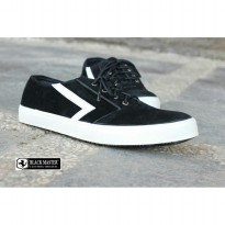 Sepatu Branded Sneakers Casual Black Master Lalana Original || Ready 39-43
