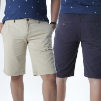 AGGRESSIVE - MENS TWILL KNEE LENGTH SHORTS