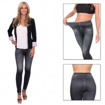 Slim N Lift Caresse Jeans Skinny Jeggings - Hitam