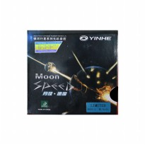 Yinhe Karet Rubber Bat Pingpong Tenis Meja Moon Speed - Black