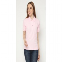 Mobile Power Ladies Polo T-Shirt Wangki - Baby Pink AG115