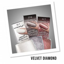 Misslyn Velvet Diamond Nail Polish