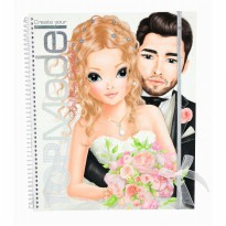 TOPModel TM 6654 Create your Wedding Special TOPModel colouring book