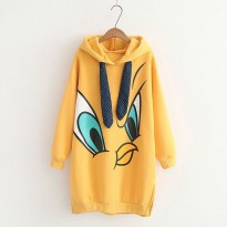 Jaket Wanita//Sweater//Long Tweety Sweater