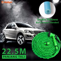 Expandable Magic Hose 22,5 M Selang Air cuci mobil motor Xhose Semprot