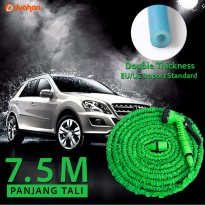 Expandable Magic Hose 7,5 M Selang Air cuci mobil motor Xhose Semprot