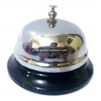 QJ Desk Bell/ Bell Meja / Bell Resepsionis & Coffee Shop Silver