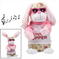 Funny Rabbit Plush Toy with Action & Sound Effect for Children (Size: 120x120x275mm)
