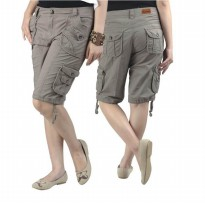 Catenzo |Jual Celana Denim Wanita - RG 005 | Bahan : COTTON | Warna : CREAM