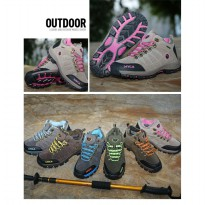 Sepatu Gunung SNTA 607 Waterproof Woman Series -Outdoor/Hikking