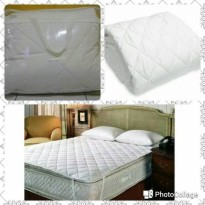 Matras Cover Pelindung Spring Bed Super King Size
