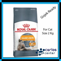 Royal Canin Hair n Skin 2kg - Termurah