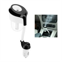 Dual USB Port Car Aromatherapy Diffuser Essential Oil -50ML
