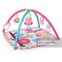 Bright Starts Pretty In Pink Activity Gym - Charming Chirps