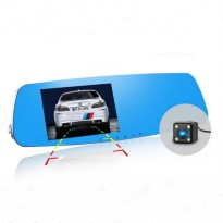 [globalbuy] New 5.0 inch Novatek 96655 Rearview Mirror DVR Car Camera Full HD 1080P Video /4301179