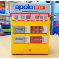 Fischer / Fisher / Fixing Plug Apolo Mea uk. F8 (German