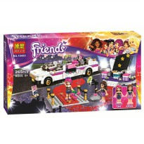 [globalbuy] Friends BELA10405 265pcs Pop Star Limo Building Blocks Set Olivia Livi Minifig/4461213