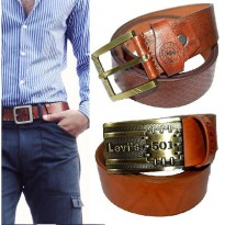 Ikat Pinggang Kulit |Gesper Pria | Leather Belt Fashion Man
