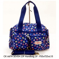 Tas Import Wanita Fashion SEVEN ZIP Handbag 2F 667 - 6