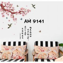 Wall Stiker Uk.60x90 Sakura AM9141