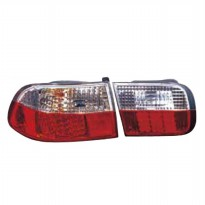 317-1974FXASV STOP LAMP+REFLECTOR H. CIVIC GENIO 4D 1992 (LED)