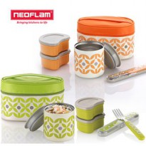 NEOFLAM/Thermal insulation lunch box set