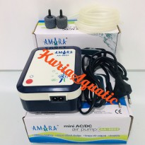 AMARA AA 6603 Mini AC/DC Air Pump / Aerator / Pompa Uda