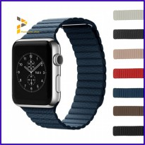 42mm Apple Watch iWatch Tali Jam Magnetic Leather Loop Strap Band