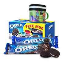 Biscuit OREO 2 pcs + FREE MUG Limited Edition