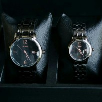Jam Tangan Couple Guess AB1425 - Full Black