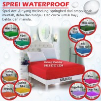 Sprei Water Proof Waterproof Anti Air Anti Ompol size 100x200 SINGLE GOOD QUALITY Kain IMPORT