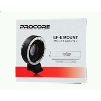 PROCORE Mount Lens Adapter EF Canon Lenses to Sony Nex/Alpha E-Mount